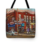 Zytynsky's Deli Rosemont Montreal Tote Bag
