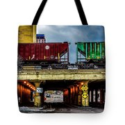 000 - Lowertown Overpass Tote Bag