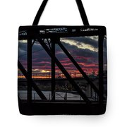 008 - Trestle Sunset Tote Bag