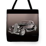 1934 Ford Roadster Tote Bag