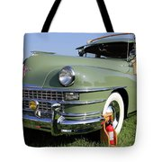 1947 Chrysler Town And Country Woody Tote Bag