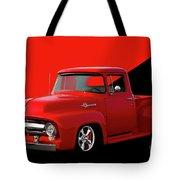 1956 Ford F100 Stepside Pickup Tote Bag