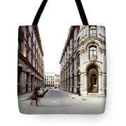 360 Degree View Of A City, Montreal Tote Bag