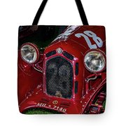 A 1930 Alfa Romeo 6c 1750 Gs  Tote Bag