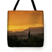A Golden Sunrise  Tote Bag