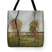 A Meadow In Eragny, 1889 Tote Bag