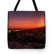 Acadia National Park Sunrise  Tote Bag