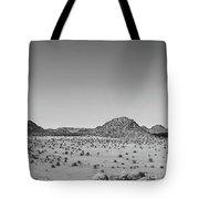 African Desert Panorama Tote Bag