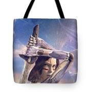 Alita Battle Angel Tote Bag