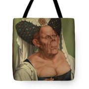 An Old Woman  The Ugly Duchess   Tote Bag