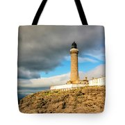 Ardnamurchan Point Lighthouse In Portrait Format. Tote Bag