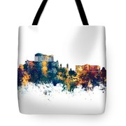 Athens Greece Skyline Tote Bag