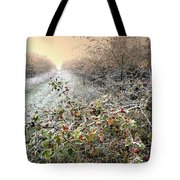 Autumn Frosts Tote Bag