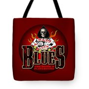 Bad Luck Blues Tote Bag