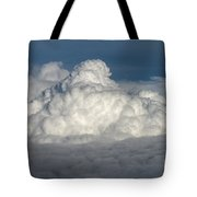 Beautiful Cloudscape High Up In The Sky. Tote Bag