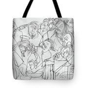 Before The Last Supper Tote Bag by Anthony Falbo