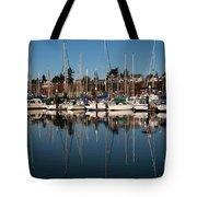 Bellingham Bay Marina  Tote Bag