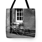 bicycle in Edinburgh close Tote Bag