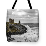 Black Castle Tote Bag