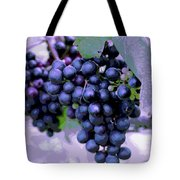 Blue Grape Bunches 7 Tote Bag