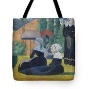 Breton Women With Umbrellas  Tote Bag