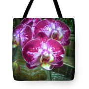 Cascade Of Orchids Tote Bag