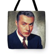 Charles Boyer, Vintage French Actor Tote Bag