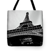 Close Up View Of The Eiffel Tower From Underneath  Tote Bag