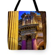 Columns Of The Palace Of Fine Arts Tote Bag
