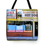 Coney Island Lunch Tote Bag