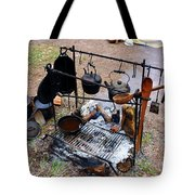Cooking In The 1800s  Tote Bag