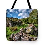 Cottage Ruin Snowdonia Tote Bag
