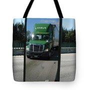 Green Freightliner Publix Tote Bag