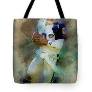 Dallas Cowboys.troy Kenneth Aikman Tote Bag
