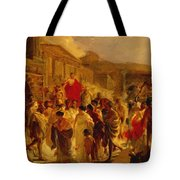 Death Of Virginia Study  Tote Bag