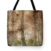 Digital Watercolor Painting Of Stunning Colorful Moody Vibrant A Tote Bag