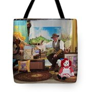 Doctor Jay And The Guardians Of Time Tote Bag