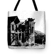 Elkhorn Ghost Town Montana Tote Bag