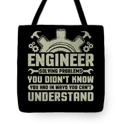 Engineer Problem Solver Engineering Career Tote Bag
