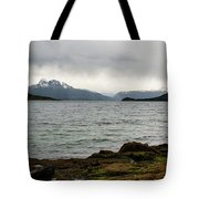 Ensenada Bay, Tierra Del Fuego National Park, Ushuaia, Argentina Tote Bag