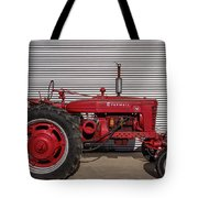 Farmall M And Steel Tote Bag