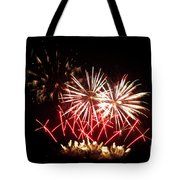Firework Display Tote Bag