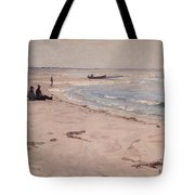 From The Beach At Sele  Tote Bag