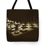 Game Of Kings Tote Bag
