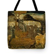 Goddess Of Chaste Love  Tote Bag