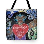 Goddess Of Wonder Tote Bag