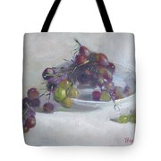 Greek Grapes Tote Bag