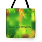 Green Environment Tote Bag