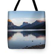Green River Lake Tote Bag by Michael Chatt