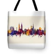Halberstadt Germany Skyline Tote Bag